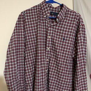 Men's button down Ralph Lauren Polo dress shirt